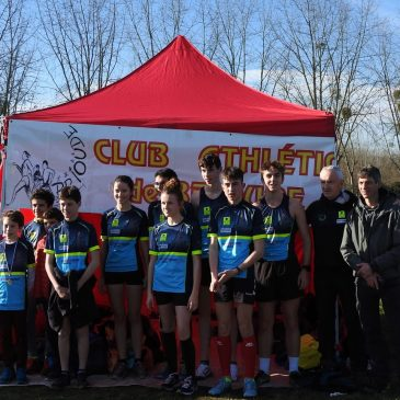 CHAMPIONNATS DEPARTEMENTAUX DE CROSS COUNTRY 2020 A THIERS.